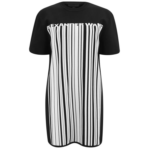 Alexander Wang Women's Logo Barcode Dress - Matrix