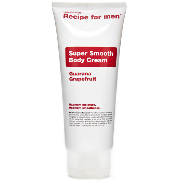 Recipe for Men - Super Smooth Body Cream 200ml