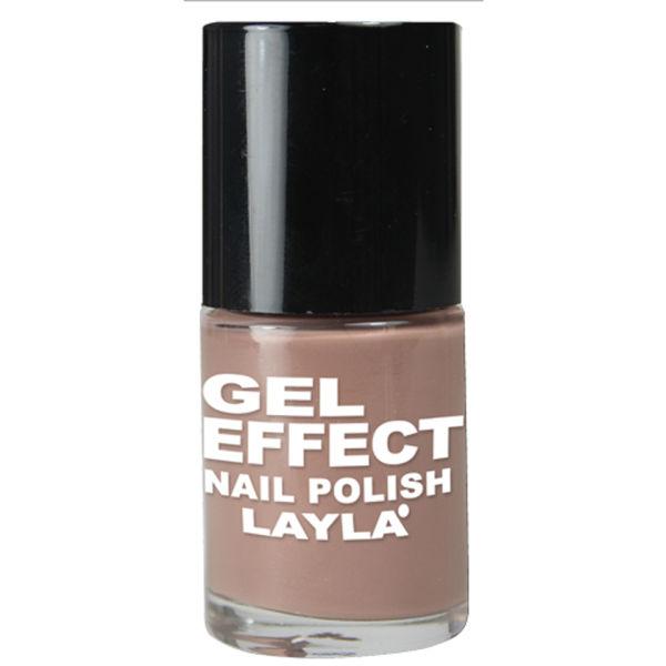 Layla Cosmetics Gel Effect Nail Polish N.04 Beige