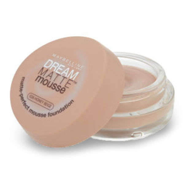 Maquillaje en mousse de Maybelline New York Dream Matte  - varios tonos