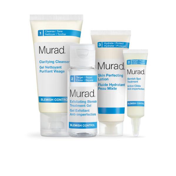 Murad Age Reform AHA/BHA Exfoliating Cleanser 1 oz each X6. AHA/BHA Cleanser revitalizes skin by gently exfoliating and polishing away dullness. Three exfoliating agents—salicylic acid, lactic acid, and .