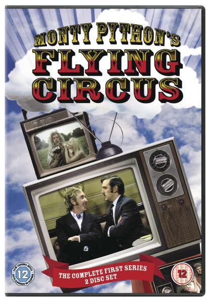 Monty Python S Flying Circus Season 1 Dvd Zavvi