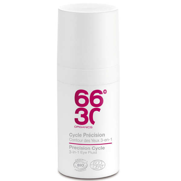 66°30 Organics Precision Cycle 3-in-1 Eye Fluid 15ml