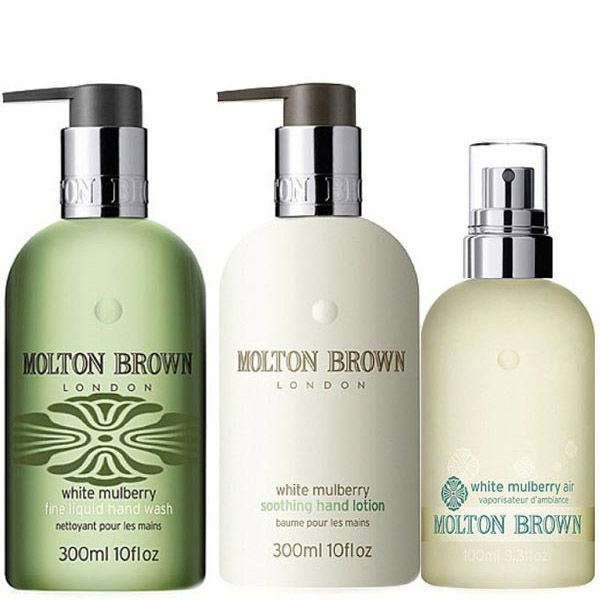 molton brown strobe hand wash lotion gift set free shipping lookfantastic. Black Bedroom Furniture Sets. Home Design Ideas