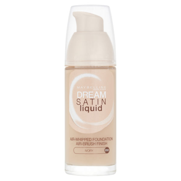 Maybelline New York Dream Satin Liquid Air-Whipped Foundation - Various Shades