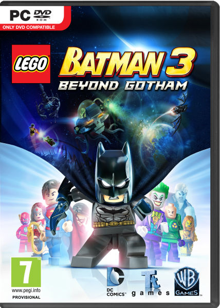 Lego Batman 3 Beyond Gotham Pc Zavvi