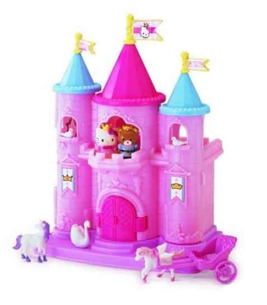 hello kitty mini castle play set toys thehut