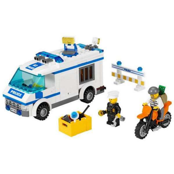 Lego city police prisoner transport 7286 toys zavvi - Lego city police camion ...