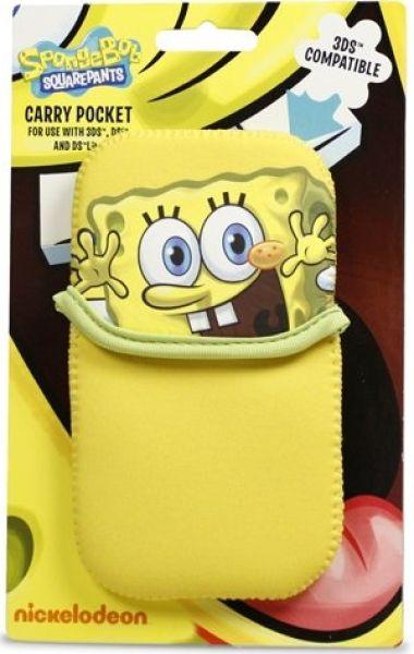 68cceb517d405 Spongebob Squarepants Carry Case for Nintendo 3DS DSL Dsi Nintendo DS  Accessories
