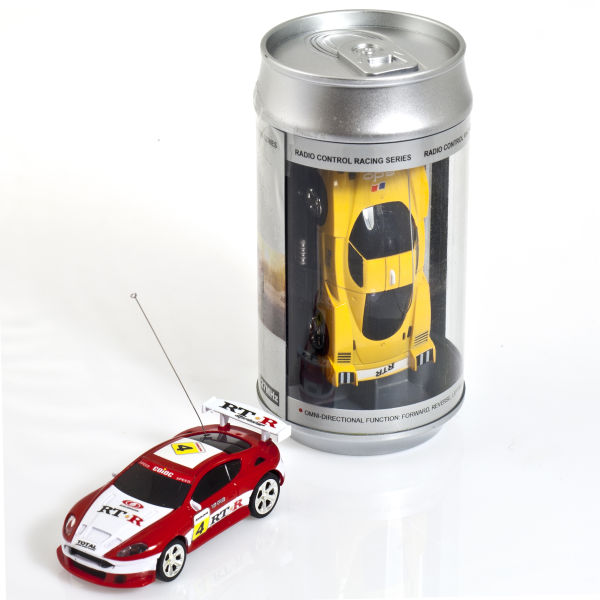 Radio Control Car in  a Can - Assorted