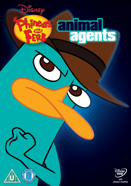 Phineas And Ferb Animal Agents Dvd Zavvi