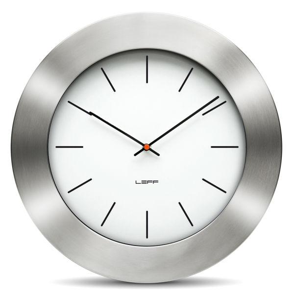 LEFF Amsterdam 55cm Wall Clock - Bold White Index