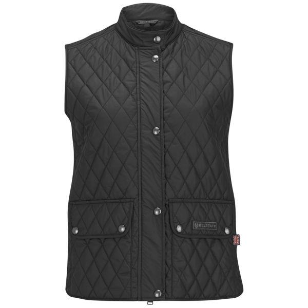 Belstaff Women's Quilted Waistcoat - Black
