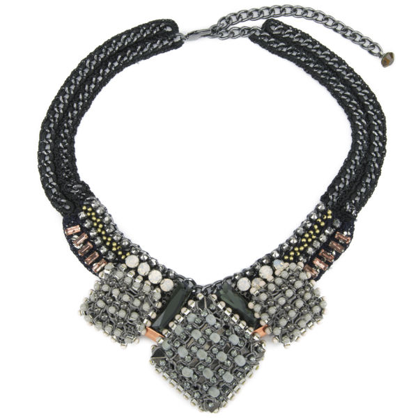 Nocturne Women's Lala Necklace - Grey