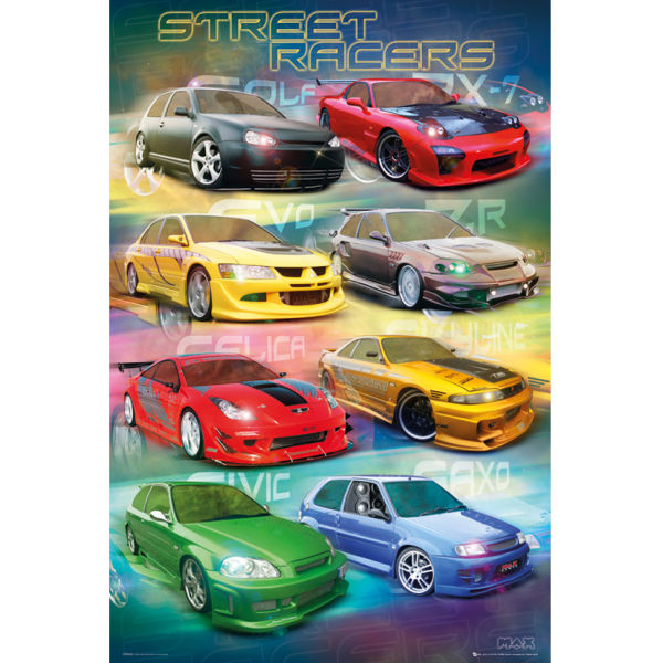 Max Power Street Racers - Maxi Poster - 61 x 91.5cm