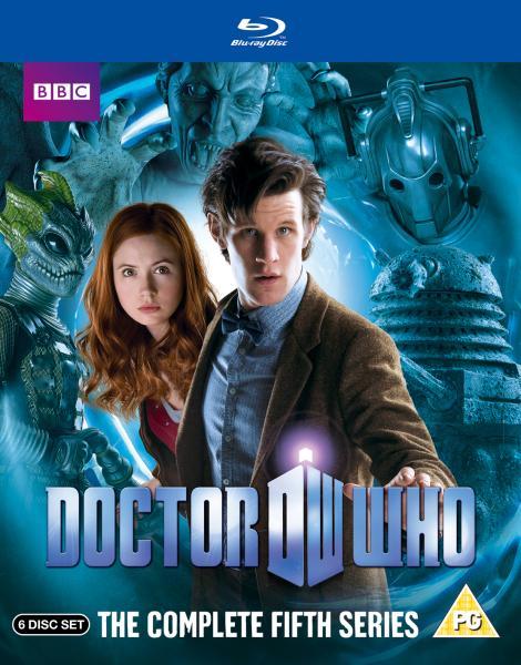 Doctor Who Series 5 Complete Box Set Blu Ray Zavvi