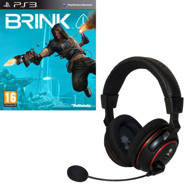 Brink Bundle (Includes Turtle Beach PX5) PS3 | Zavvi