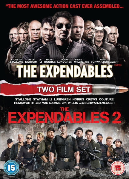 The Expendables 1 and 2