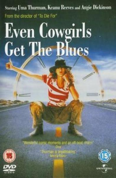 Even Cowgirls Get The Blues Dvd Zavvi