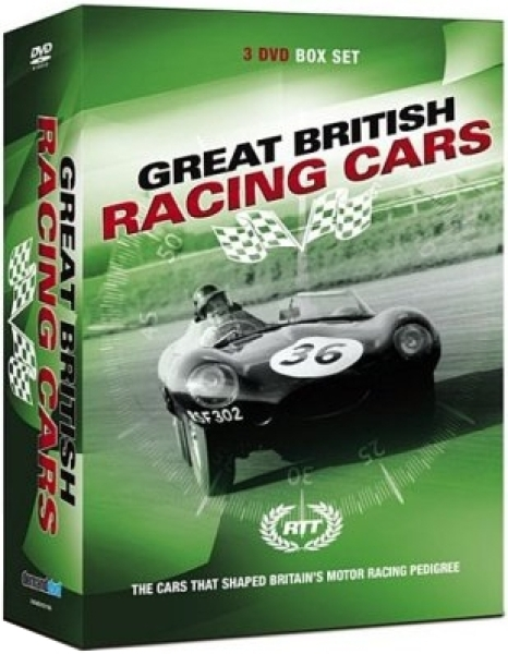 Racing Through Time - Great British Racing Cars