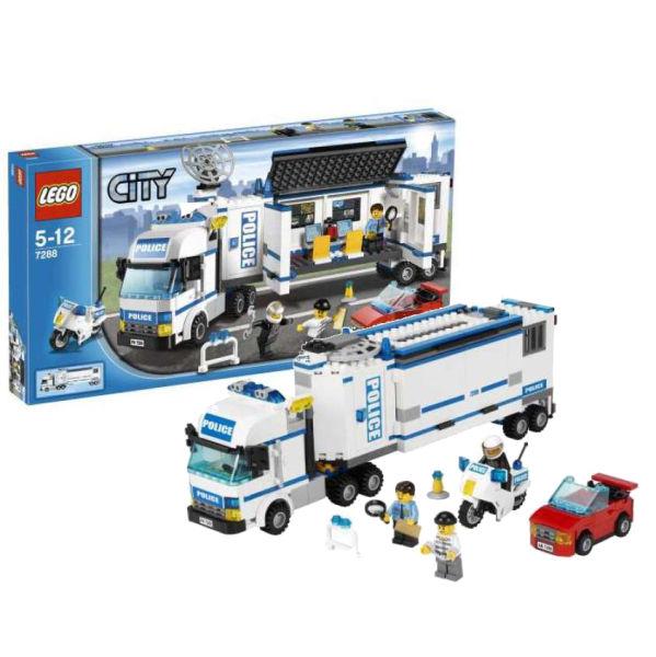 Lego city mobile police unit 7288 toys zavvi - Lego city camion police ...