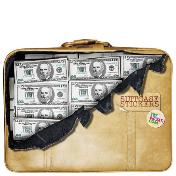 suitcase stickers money iwoot