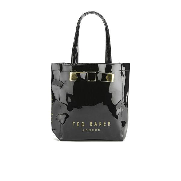 2c3b2724fb Ted Baker Plain Bow Small Icon Bag - Black: Image 1