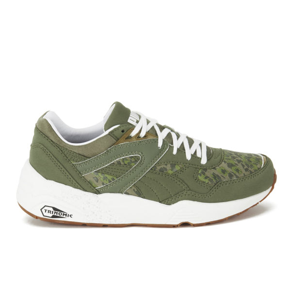 Puma Women's Trinomic R698 Natural Calm Trainers - Burnt Olive