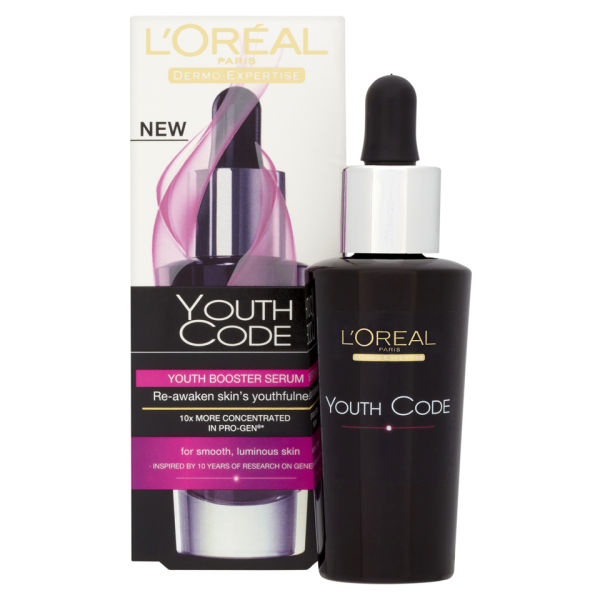 l 39 oreal paris dermo expertise youth code youth booster serum 30ml buy online mankind. Black Bedroom Furniture Sets. Home Design Ideas