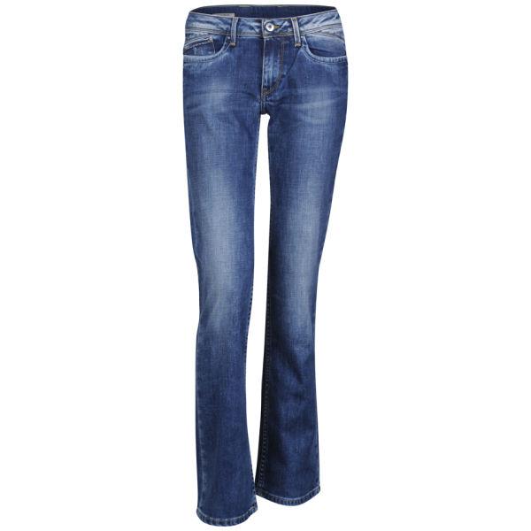 pepe women 39 s venus stretch bootcut jeans pure blue. Black Bedroom Furniture Sets. Home Design Ideas