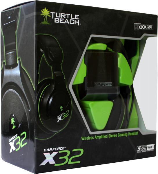 Xbox 360 Gaming Headset >> Turtle Beach: X32 Xbox 360 Wireless Headset Games Accessories | Zavvi