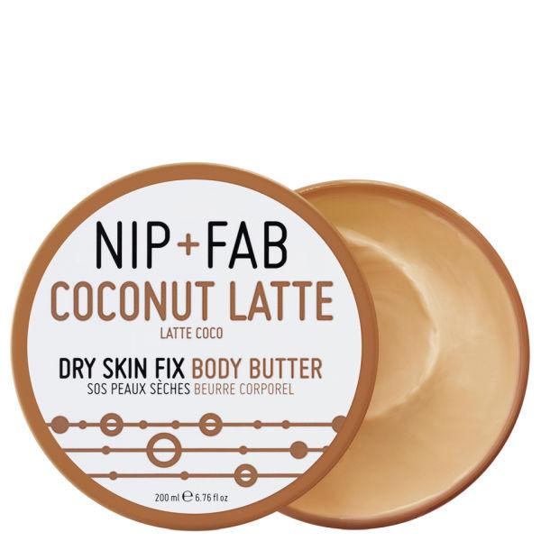 Nip+Fab Body Butter Coconut Latte (200ml)