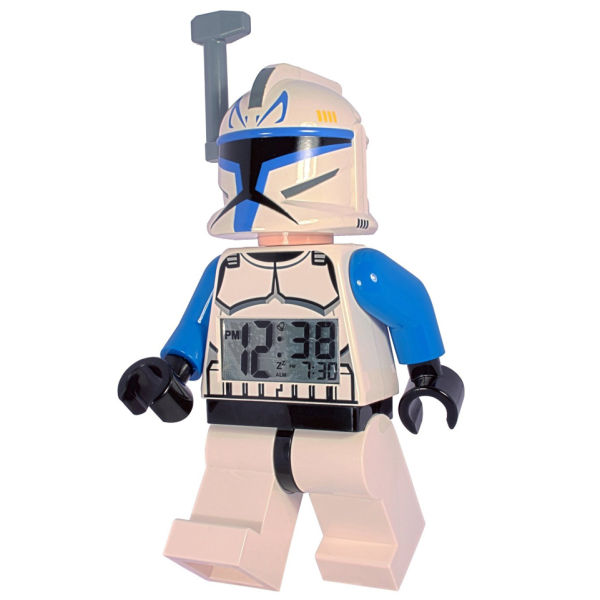 lego star wars captain rex alarm clock iwoot