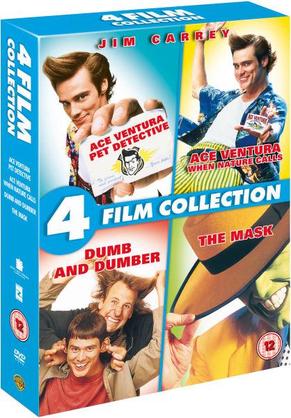 Jim Carrey Quad Collection Dvd Zavvi