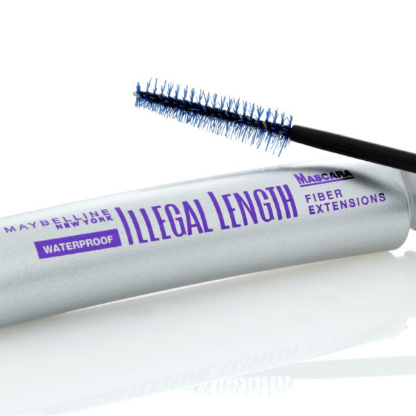 bef61d1aeed Maybelline New York Illegal Length Fibre Extensions Waterproof Mascara -  4mm Long Fibres (6.9ml