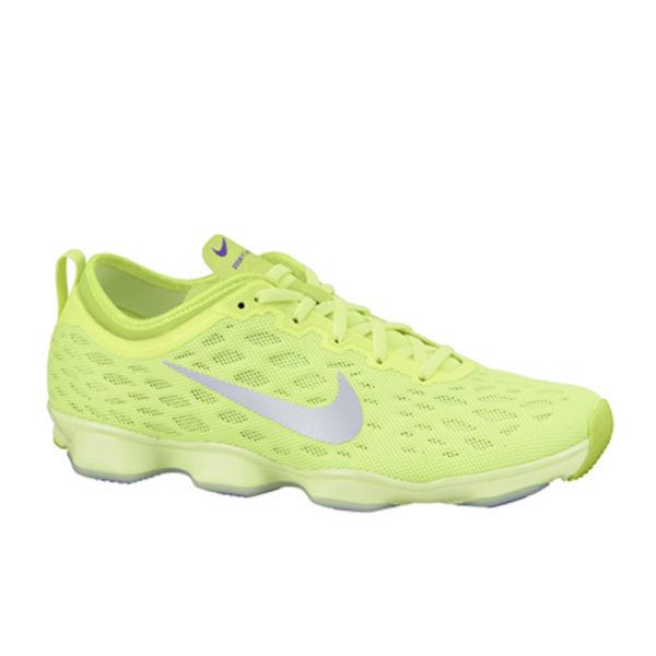 Nike Volt Damens's Zoom Fit Agility Training Schuhes Volt Nike Grün Silver 2cc41d