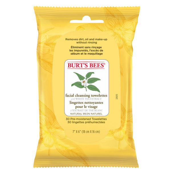 Burt's Bees White Tea Facial Wipe