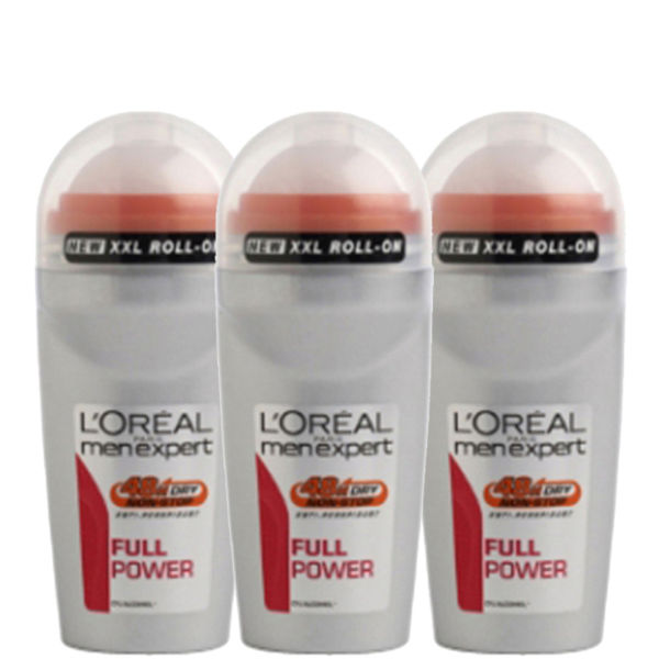 L'Oreal Paris Men Expert Full Power Deodorant Bille (50 ml) Trio