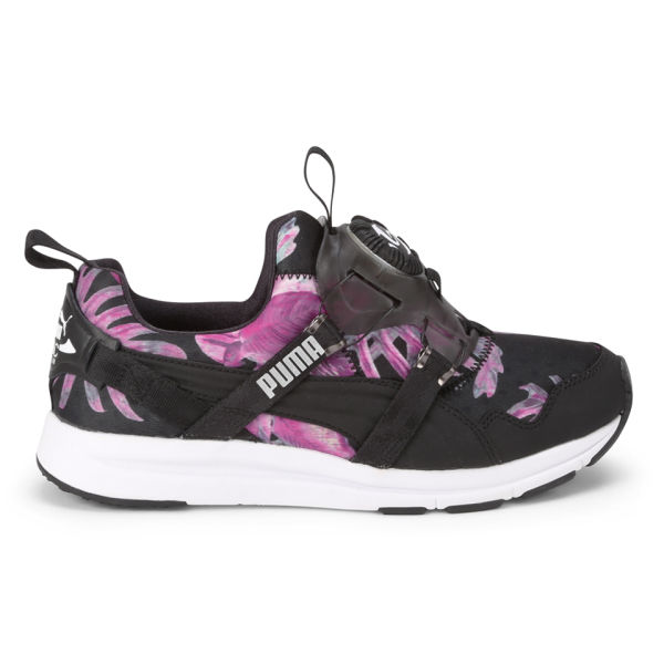 Puma Women's Disc Tropicalia Trainers - Black