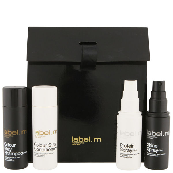 label.m Treat & Style Mini Giftbag - Colour Stay (4 Products)
