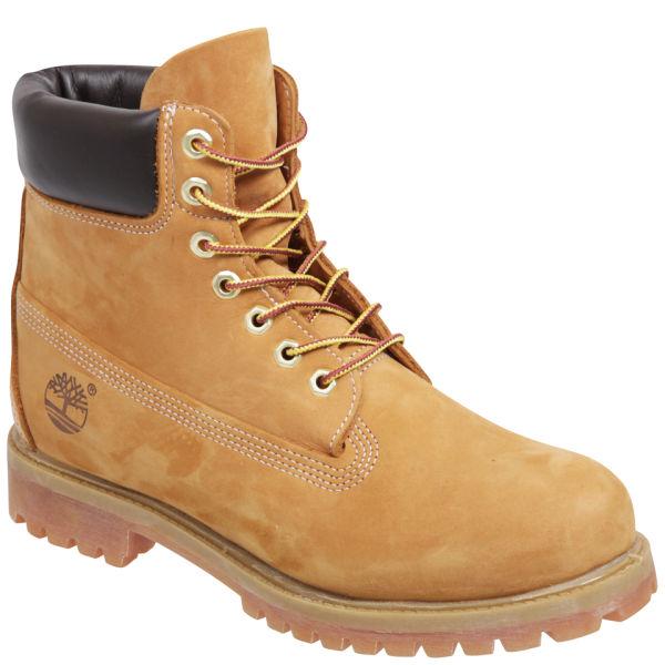 Timberland Men s 6 Inch Premium Boots - Wheat Mens Footwear  fad0c75db2b0e