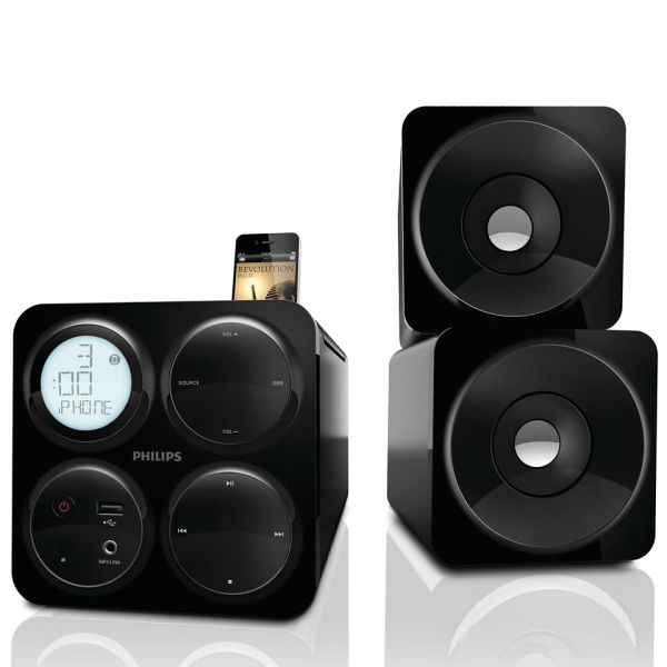 Philips Dcm1070 12 Cube Micro Music System Iwoot
