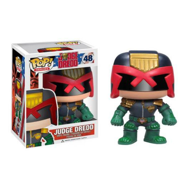Judge Dredd Comic Pop! Vinyl Figure