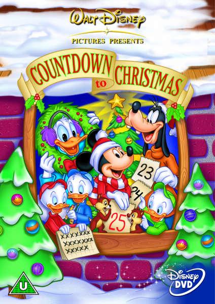 Mickeys Countdown To Christmas Dvd Zavvi