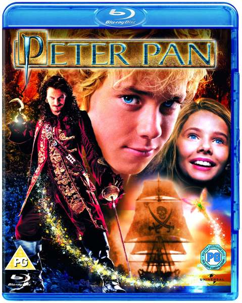 Peter Pan 2003 Blu Ray Zavvi
