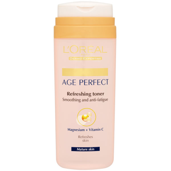 L'Oreal Paris Dermo Expertise Age Perfect Refreshing Toner - Smoothing + Anti-Fatigue (200 ml)