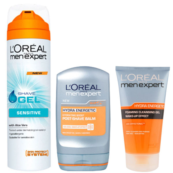 L Oreal Paris Men Expert Shave Trio Free Shipping
