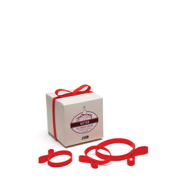 Gifted Bow Bands - Red