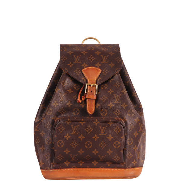 Louis Vuitton Vintage Leather Backpack   Image 1 db299667deef1