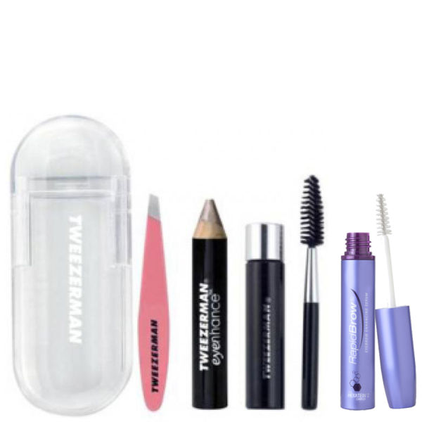 The Ultimate Brow Duo (RapidBrow and Tweezerman Mini Brow Rescue Kit)